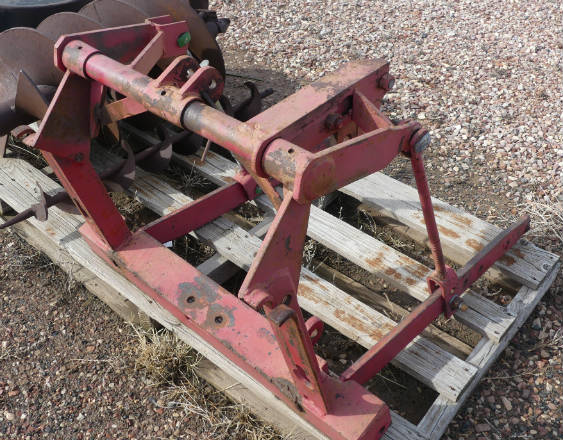 Used - Farmall three point unit (fits H, M, 300 and 350)