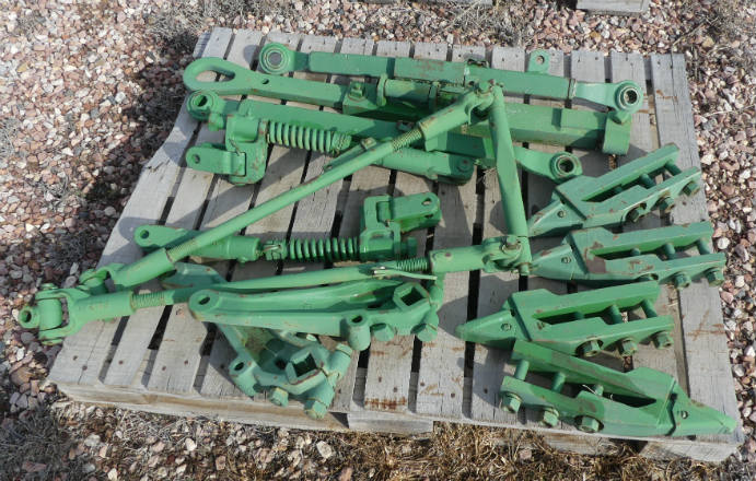 Used - original john deere three point (fits a, 50 or 60)