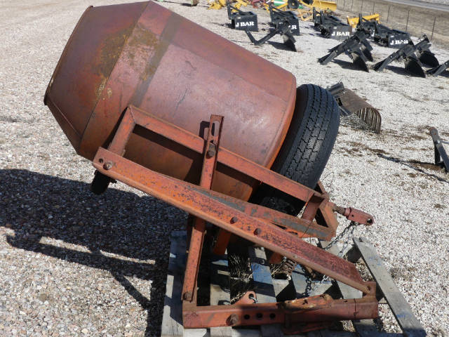 Used -- 3 point cement mixer ( any category I )/no remotes needed