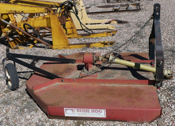 Used Bush Hog 5 foot rotary mower