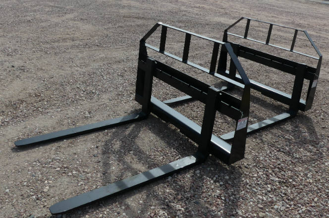 New Quick Attach bucket forks - 2,000 lbs. capacity