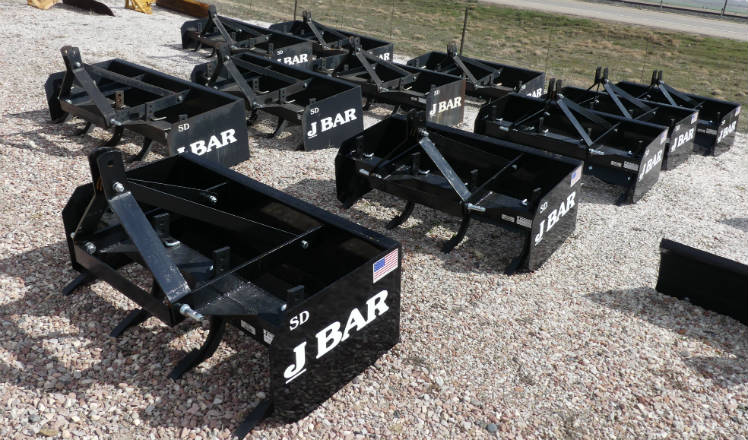 New - J-bar - 4 foot, 5 foot and 6 foot Heavy Duty Box Scrapers