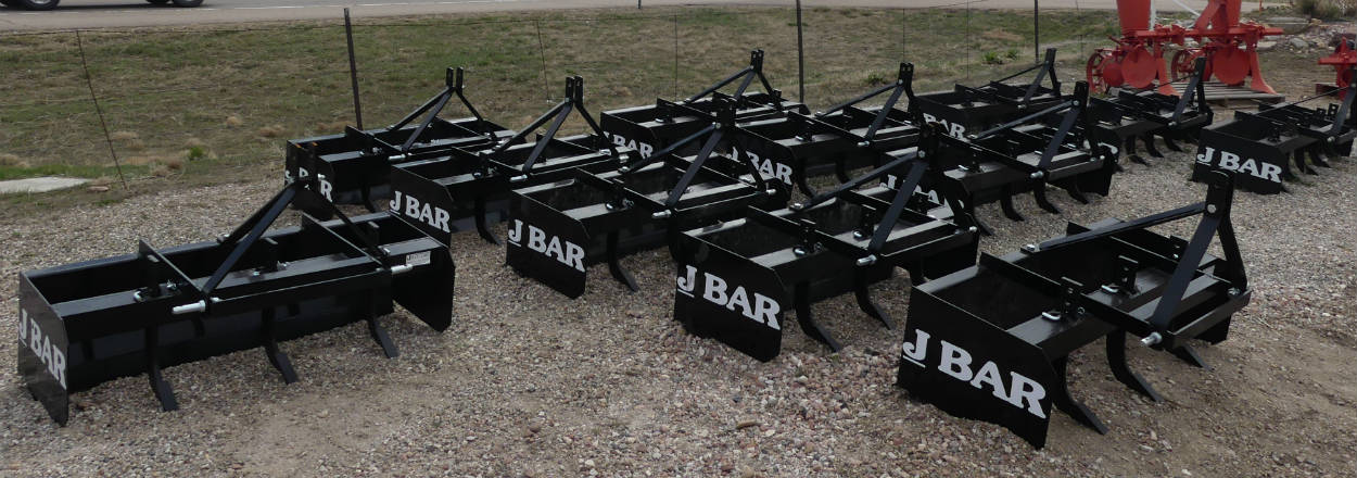 New - J-bar - 4 foot and 6 foot Box Scrapers