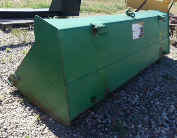 Used -- John Deere Quick Attach 52 inch bucket