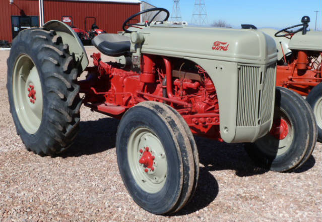 Used - Ford 8N Tractor (overhauled engine, new clutch